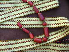 Woven Wool Strap for Reenactors