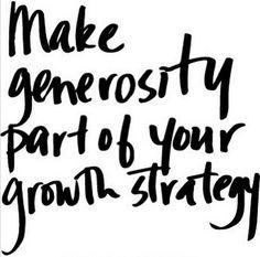 #generosity #rawpovibes
