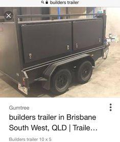 Work Trailer, Trailer Plans, Utility Trailer, Truck Boxes, Truck Tool Box, Mobile Welding, Welding Trailer, Trailer Storage, Defender 110