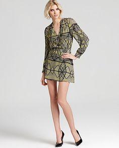 Parker Printed Dress - Lila | Bloomingdale's