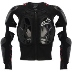 Designed for the extremes of motocross and enduro, Alpinestars' Bionic Tech Jacket is an ultra-lightweight and versatile protection garment with CE certified. Motorcycle Safety Gear, Dirt Bike Gear, Biker Gear, Motorcycle Jacket, Equipement Moto Cross, Race Car Jackets, Motocross Maschinen, Atv Gear, Honda