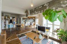 DIYリノベーション建築家が暮らす未完のワンルーム | ToKoSie ー トコシエ