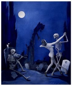 Danse Macabre- Mrs Smith always enjoyed a dance. She liked to dance as if no one was watching. The freedom she felt was divine.