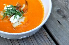 tomato soup - looks yummy