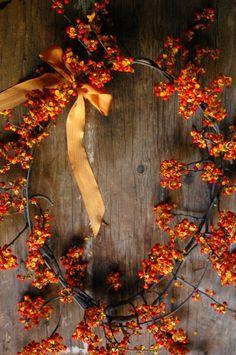 neat bittersweet wreath