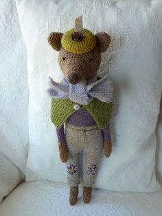 Winter Bear by Sweetnellie on Etsy, $94.00