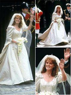 theweddingsecret:  Wedding of Sarah Ferguson to the Duke of York, 1986