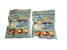 Ez-towels (2) bags of 50 pieces each with handy travel tubes of 10 in each bag Ez-towels http://www.amazon.com