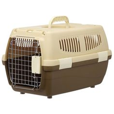 2 door carry small dogs and cats for Brown (japan import) *** Check out this great product.