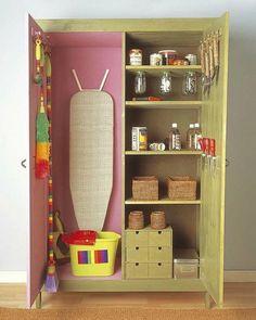 Un armario a modo de trastero