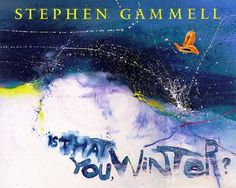 All right, he LOVES to draw houses situated on really, really, really steep cliffs...like the Berenstain Bears' first home. Fittingly scary-cool. =} // Is That You, Winter? by Stephen Gammell,http://smile.amazon.com/dp/0152014152/ref=cm_sw_r_pi_dp_dnTEtb1137KVZ038