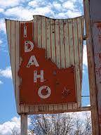old Idaho neon