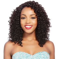 Brazilian Remy Lace Front Wigs Curly Human Hair Middle Long Wigs Natural Color Off Edgy Long Hair, Very Short Hair, Long Curly Hair, Curly Hair Styles, Natural Hair Styles, Remy Hair Wigs, Human Hair Wigs, Stylish Hair, Weave Hairstyles