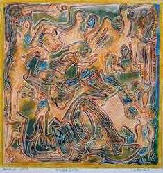 Original Fantasy Painting by Ivan Lozica Original Art, Original Paintings, Summer Painting, Fantasy Paintings, Indian Summer, Watercolour Painting, Figurative Art, Buy Art, Saatchi Art