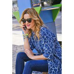 Spanidh blogger CC Fashion wearing Anneclaire coat