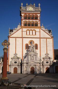 St Matthias' Abbey in Trier in Germany