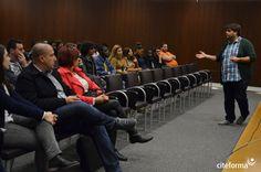 Os Direitos Humanos são o tema da segunda parte da sessão informativa sobre transição para o mercado de trabalho. Daniel Oliveira, da Aministia Internacional é o orador convidado.