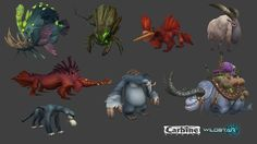 ArtStation - Various creatures, Brandon Dix