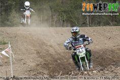Fin Walters #711 @ Amherst Meadowlarks MC - CRA (65cc Open, 11 & under) - 11 May 2014  #WaltersBrothersRacing #711WBR117 #Motocross #MX #AnySportHeroCards #AXOracing #BrapCap #DT1Filters #DunlopTires #EKSBrandGoggles #FafPrinting #Kalgard #K3offroad #MikaMetals #MotoSport #RiskRacing #SlickProducts #SpokeSkins #StepUpMX #dirtbike #Kawasaki #KX #KX65 #65cc #Walters #Brothers #Racing #Fin #CRA #AmherstMeadowlarks — with Devon Mayer and Regina Buckner.