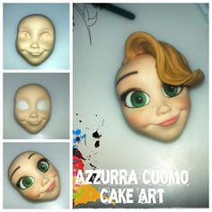Face in progress....guess who?(Step by step)