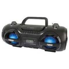 MP3/CD Party Boombox and USB/SD Player