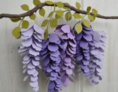 How to make Paper Wisteria | Daily inspiration from our bloggers