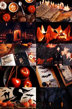 "Call Me Winter Soldier: ""Wheel of the Year Aesthetics: Samhain (more)"" - Halloween Ideas Halloween Tags, Halloween Home Decor, Halloween Ghosts, Halloween House, Halloween Pumpkins, Fall Halloween, Happy Halloween, Halloween Decorations, Retro Halloween"