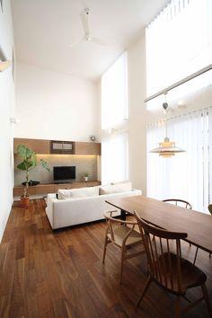 やわらかな光の通るの家・間取り(愛知県日進市)  ローコスト・低価格住宅   注文住宅なら建築設計事務所 フリーダムアーキテクツデザイン