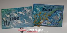 Hello, everyone! Lynne here today to welcome you to my monthly mixed media…