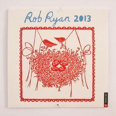 Rob Ryan Calendar 2013 por misterrob en Etsy