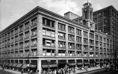 Sibley, Lindsay & Curr Co In 1905, after a fire Sibley's moved to the Sibley Building corner of East Main Street and Clinton Avenue. By 1939, Sibley's was the largest department store between New York City and Chicago. In 1962, competitors B. Forman Co. and McCurdy's collaborated to construct Midtown Plaza, right across Main Street from Sibley's. Sibley's was connected to the new mall by an enclosed third-floor walkway, part of the Rochester Skyway system.