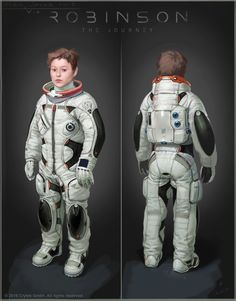 Robinson - space suit, Timur Mutsaev on ArtStation at https://www.artstation.com/artwork/knXYd