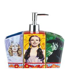 Look at this Wizard of Oz Bathroom Set on #zulily today! $24.99
