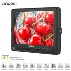 160.97$  Watch now - http://aix35.worlditems.win/all/product.php?id=D4411US - Andoer S7 Professional 7 inch On-Camera Field Monitor IPS Full HD 1920 * 1200 High Resolution Video Monitor Support 4K HD Signal for Sony Canon Nikon BMCC BMPC BMPCC 5D Mark III