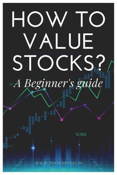 Stock Market Investing, Investing In Stocks, Real Estate Investing, Value Investing, Investing Money, Stock Market Basics, Stocks For Beginners, Intrinsic Value, Value Stocks
