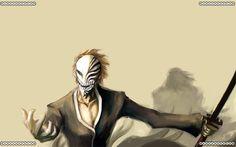 Ichigo Kurosaki with Hollow Mask