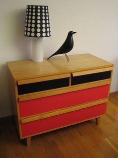 Kommode mit Schubladen Swiss Design, Victoria, Eames, Drawers, Table, Furniture, Home Decor, Dresser Pulls, Decoration Home