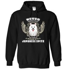 Japanese Spitz Dog Woman T Shirt, Hoodie, Sweatshirt