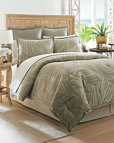 Tommy Bahama Montauk Drifter 4 Piece California King Comforter Set