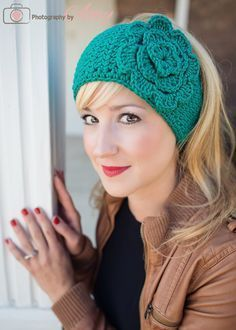 #crochet head wrap ear warmer pattern