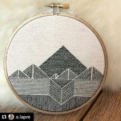 Happy Monday everyone! Here's some nifty needlework from @s.lapre A simple idea, yet so very elegant and charming. A nice way to start the week. #regram ・・・ I finally finished it! This. Took. Forever. Cotton on cotton inside a 5 inch metallic bronze painted hoop. I am in love! ✨ #xstitchersofinstagram #handembroidery #hoopembroidery #creativityfound #thatsdarling […]