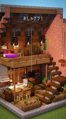 Minecraft World, Minecraft Mansion, Easy Minecraft Houses, Minecraft House Tutorials, Minecraft Houses Blueprints, Minecraft Room, Minecraft Plans, Minecraft House Designs, Minecraft Decorations