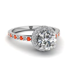white-gold-round-white-diamond-engagement-wedding-ring-with-poppy-topaz-in-shared-prong-set-FDENS3183RORGPOTO-NL-WG.