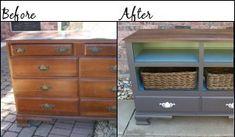 refurbished dresser.
