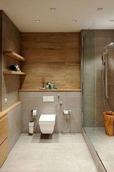 36 suprising small bathroom design ideas for apartment decorating 7 Bathroom Decor Ideas Apartment Bathroom Decorating Design Ideas Small suprising Wood Bathroom, Grey Bathrooms, Modern Bathroom, Bathroom Ideas, Bathroom Organization, Bathroom Accents, Bathroom Showers, Master Bathrooms, Bathroom Mirrors