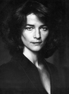 """Charlotte Rampling.  I was watching """"Never Let Me Go"""" last week and for some reason she has stuck in my brain for days."""