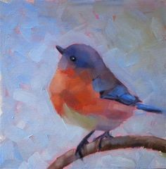 Original Fine Art By © Maria Z. in the DailyPaintworks.com Fine Art Gallery