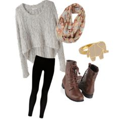 Cute and comfy outfit!