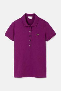 #Lacoste #polo #purple