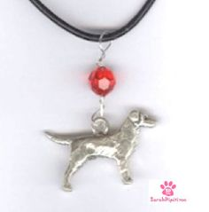 I Love My Labrador Retriever Birthstone Charm Necklace,Sterling Silver,Labrador Retriever Charm, Dog Breed Jewelry,Pet Charm,Dog Lover Gifts by SarahDipitiToo on Etsy